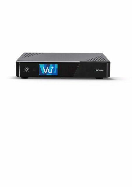 Plus Uno 4K SE FBC Dual 2x DVB-S2//S2X PVR Linux Enigma2 Satellite Receiver VU
