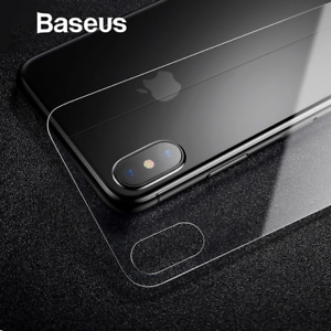 finest selection f1848 02a7a Details about Baseus 3D 0.3mm Tempered Glass Back Cover Ultra Thin Scratch  Proof For iPhone X