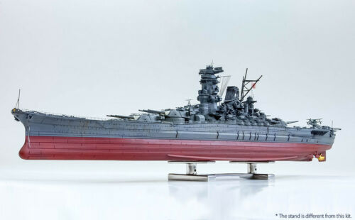 Model Factory Hiro 1700 Japanese Battleship YAMATO 1945 Full Hull Model