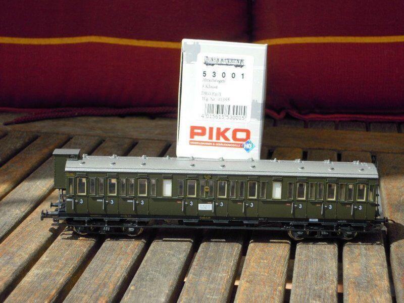 negozio online Piko 53001 autorozza con Scompartimenti Scompartimenti Scompartimenti C 3.kl.m.bremserhaus DRG Ep. 2  connotazione di lusso low-key