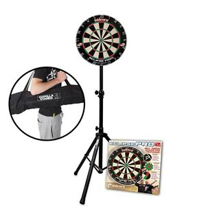 Unicorn-Eclipse-Pro-2-Dartboard-amp-Gorilla-Arrow-Pro-Portable-Dart-Board-Stand