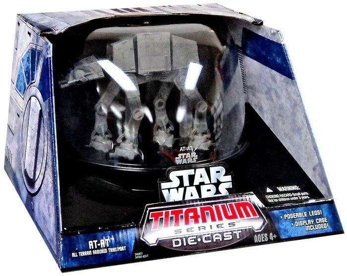 Star Wars Titanium Series Series Series Ultra Vehicles Imperial AT-AT Diecast Vehicle 429b86