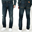 Nudie-Herren-Slim-Fit-Stretch-Jeans-Hose-Thin-Finn-Blau-Schwarz-B-Ware-NEU Indexbild 49