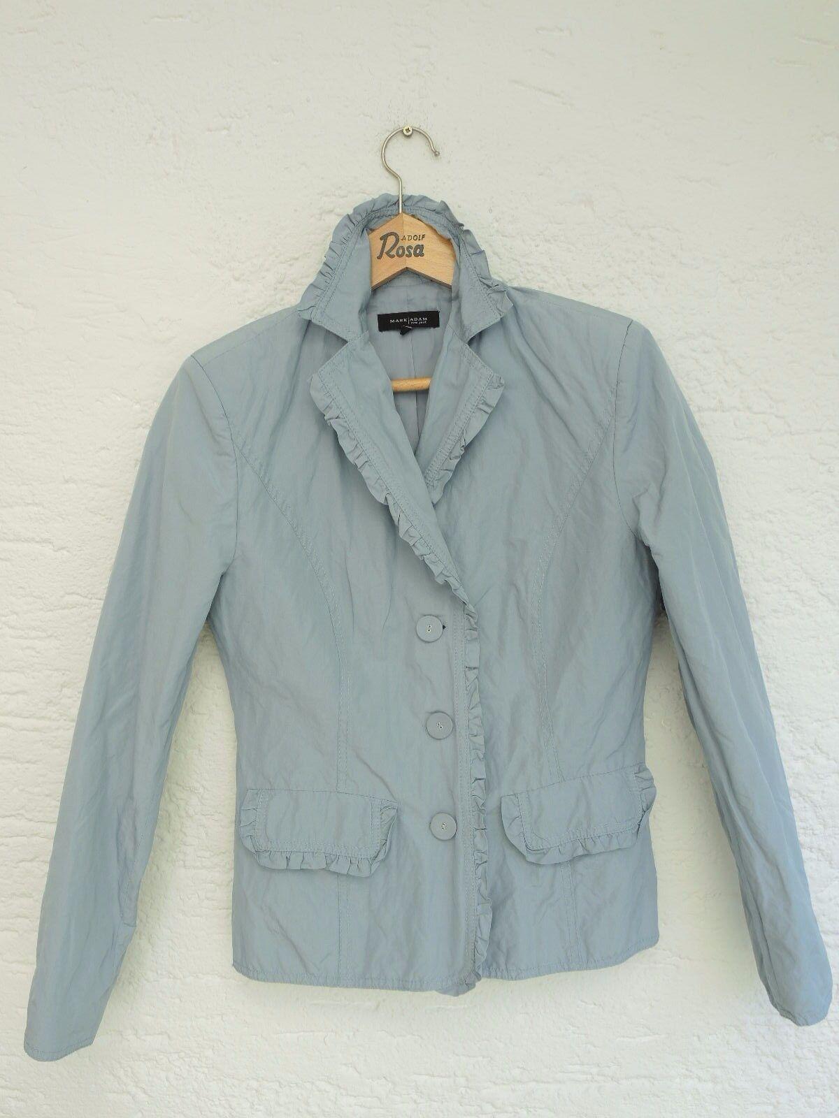 Marc Adam Blazer Size 36, Blue-Grey