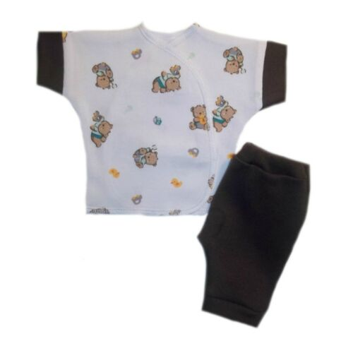 Teddy Bear and Toys Baby Shorts and Shirt Outfit 4 Preemie and Newborn Sizes