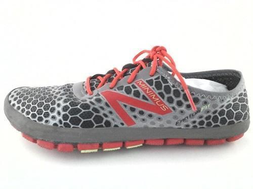 EUC NEW BALANCE Minimus FANTOM FIT WR1GP Running Chaussures gris US 9 EU 40.5 RARE
