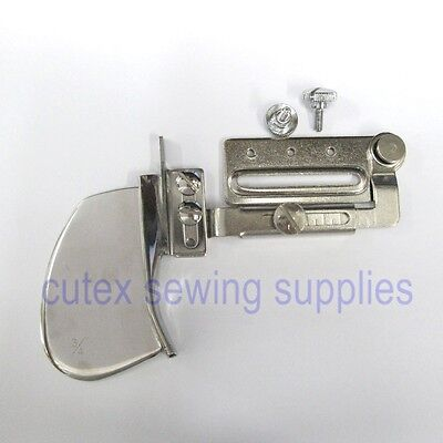 S28esong Double Fold Angle Binder 18-45mm Overlock Binding of Curve Edge Industrial Sewing Machine Binding Attachment Folder