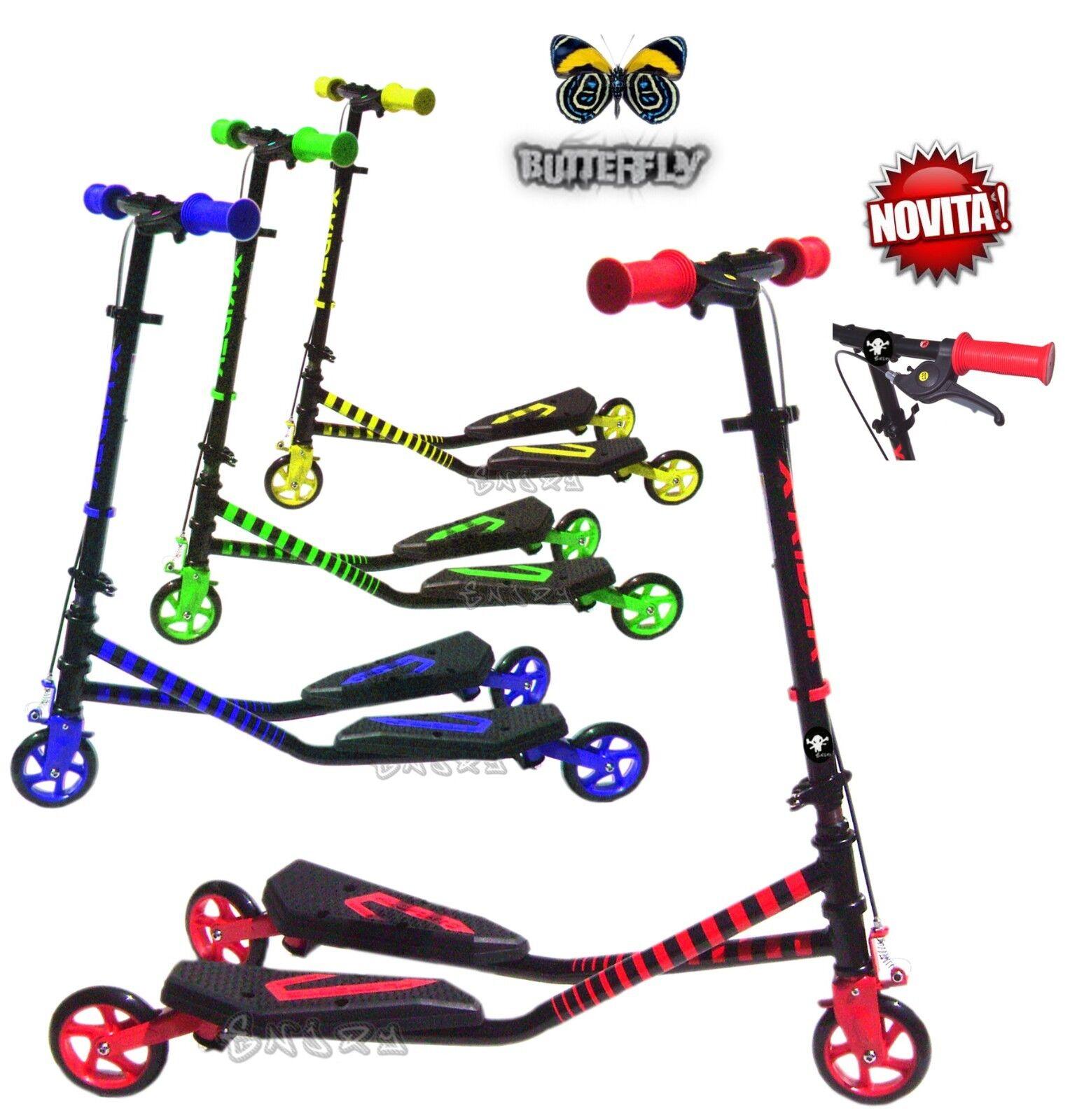 Roller Drosselklappe für Kinder mit Bremse Bipattino