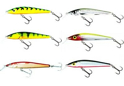 Salmo Hornet H5F DN Color DALMATIAN for Bass//Walleye//Trout//Pickerel//Pike Lure