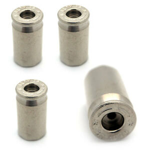 4 CNC Bullet Spike Tire//Wheel Stem Air Valve Caps for car//truck//hotrod