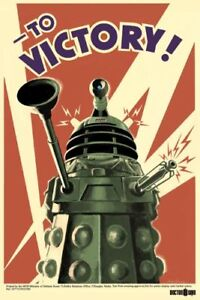 DOCTOR-WHO-POSTER-Dalek-To-Victory-61x91cm-dr-BRAND-NEW