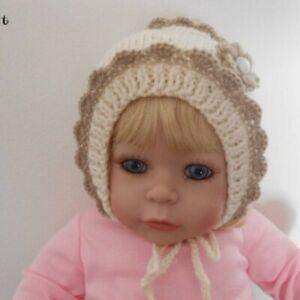 bonnet bébé fille naissance,bonnet nouveau né,cadeau bebe,Bonnet bébé fleur
