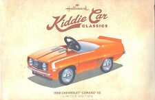 Hallmark 2016 1969 Chevrolet Camaro SS Kiddie Car Classics Limited Edition