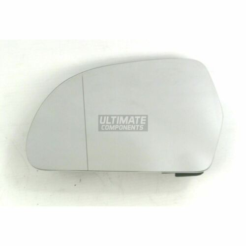 Audi A5 8T Coupe 2007-12//2009 Heated Aspherical Mirror Glass Passenger Side