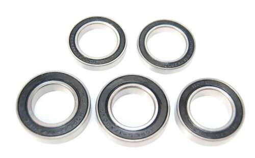 5 Pack 6802 61802 15x24x5mm 2RS Bearings