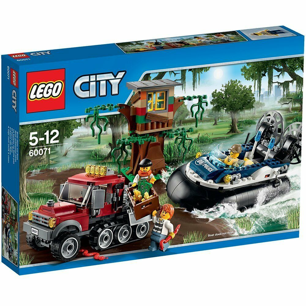 Lego City 60071 Arresto en Aerodeslizador - New and Sealed