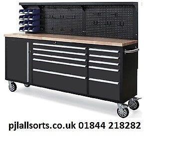 Neilsen 84 In Tool Cabinet On Wheels