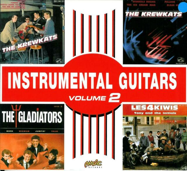 "INSTRUMENTAL GUITARS  Volume 2  "" Krewkats ..... ""  Magic CD"