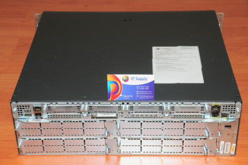 Cisco 3845 Router,Single AC PSU Rack Kit 512F//1GBD 6MthWtyTaxInv