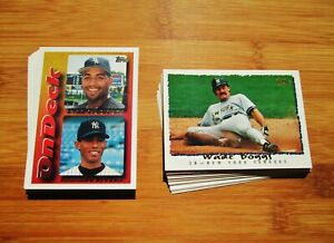 1995-Topps-NEW-YORK-YANKEES-Team-Set-w-Traded-35-Cards