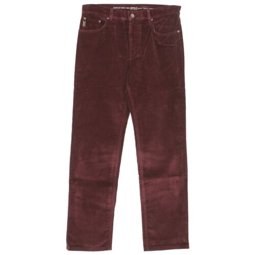 21107 BRAX Jeans Uomo Pantaloni Cooper Fancy Cord Straight stretch bordeaux vinaccia