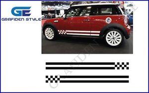 1 Paar MINI COOPER - Monte Carlo - Auto Seiten Aufkleber - Car Sticker - Decal !