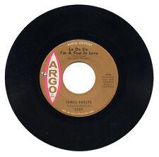 "JAMES PHELPS  ""LA DE DA, I'M A FOOL IN LOVE c/w WASTING TIME""    LISTEN!"
