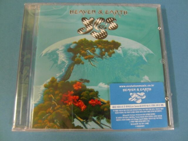 YES - HEAVEN & EARTH CD + BONUS TRACK (SEALED) $2.99 S&H
