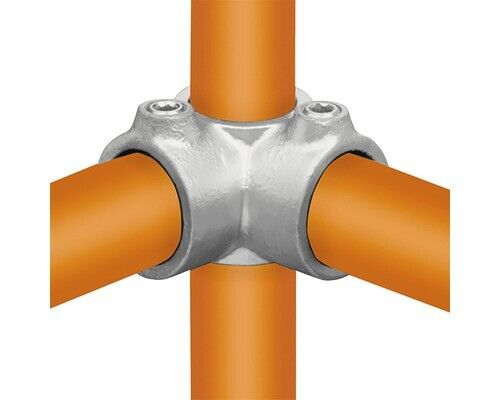 Winkelgelenk Buildify Rohrverbinder für Gerüstrohr aus Stahl verstellbar Ø 33 mm