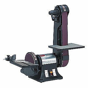 DAYTON Belt/Disc Sander,1/3 HP,120V, 6Y945