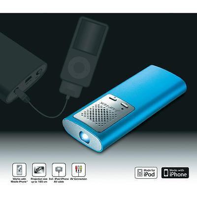 "Mini Beamer Pico Projector Aiptek PocketCinema T30  6""-65"" IPhone IPad etc."