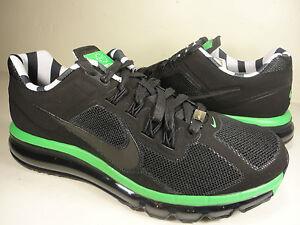 Nike Air Max 2013+ QS Paris Black/Lush Green Size 9 586851-003
