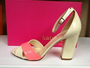 87dc9fcd61ca Kate Spade Isabel Women s Open Toe Ankle Strap Patent Leather ...