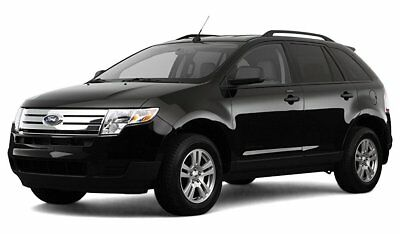 "2007-2014 Ford Edge FITS **SHORT**  4/"" BLACK ALUMINUM ANTENNA MAST"