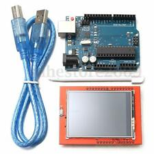 UNO R3 ATmega328P Board + 2.4 Inch TFT LCD Touch Screen Module Kit For Arduino