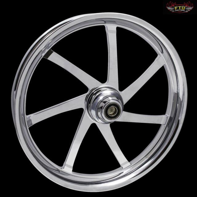 "Harley Davidson 23"" inch Custom Front Wheel ""Agitator"""