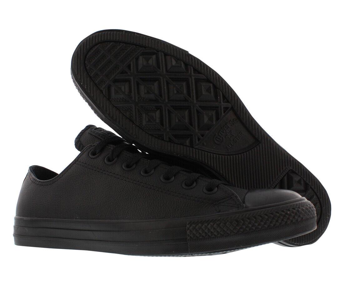 dd8d2b3f0c8b Converse Unisex Chuck Taylor All Star Leather Ox Black Casual ...