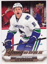 2015-16 Upper Deck Canvas Young Guns #C114 Jared McCANN Rookie RC Vancouver Rare