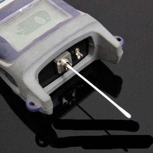 25PCS//LOT Fiber Cleaning Tools Optical Fiber Dust-Free Cotton Swab Cleaning Rod