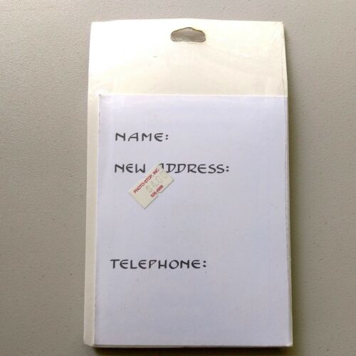 Details about  /10 NIP 1980/'s Vintage New Address Moving Announcements Cow Themed Sealed NOS