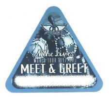 Aerosmith - Nine Lives World Tour 1997 - 98 - Konzert-Satin-Pass Meet & Greet