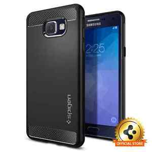 on sale 3846b 9be8f Details about Samsung Galaxy A5 2016 Case Spigen® Rugged Armor Shockproof  Case Slim TPU Cover