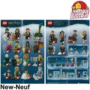 Lego-figurine-minifigure-sachet-serie-series-Harry-Potter-au-choix-71022-NEUF