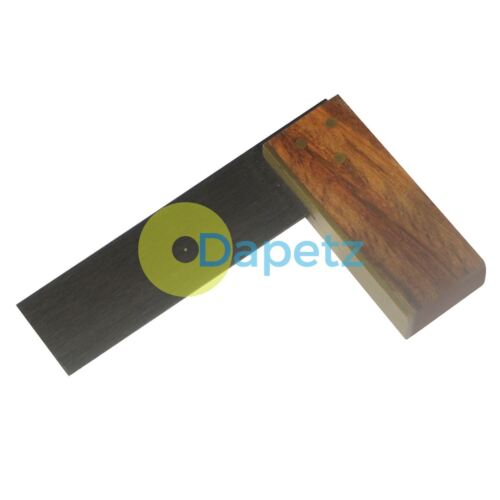 Carpenters Square 72mm Brass Carpentry Woodwork Joiner 3 Rivet Fixings