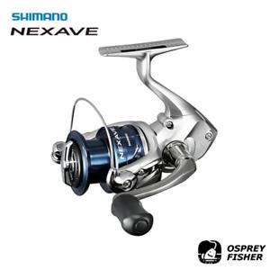 SHIMANO Nexave Spinning Fishing Reel 3+1BB Saltwater//Freshwater Fishing Reel