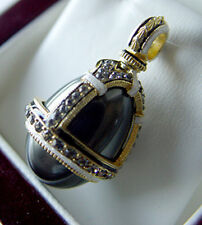 SALE !  BEAUTIFUL PENDANT made of STERLING SILVER 925 with BLACK PEARL