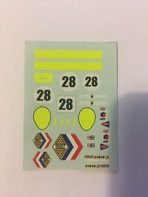 DECALS KIT 1//43 FASCE BANDE LE MANS TOUR DE FRANCE GENERICA DECAL