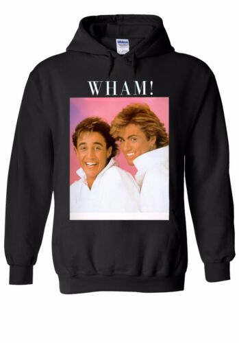 George Michael Wham Pretty Boys Men Women Unisex Top Hoodie Sweatshirt 1919E