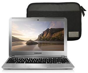"Samsung Chromebook 11.6"" Exynos 5 Dual-Core 1.7GHz 2GB 16GB Laptop W/ Hex Case"