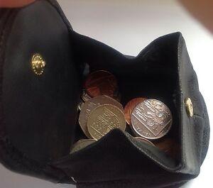 Cuero Bandeja Monedero Moneda de Cambio titular Bolso / Cartera  </span>